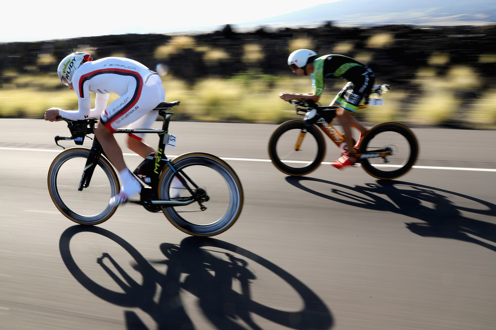 Triathlon de Kona : cyclisme