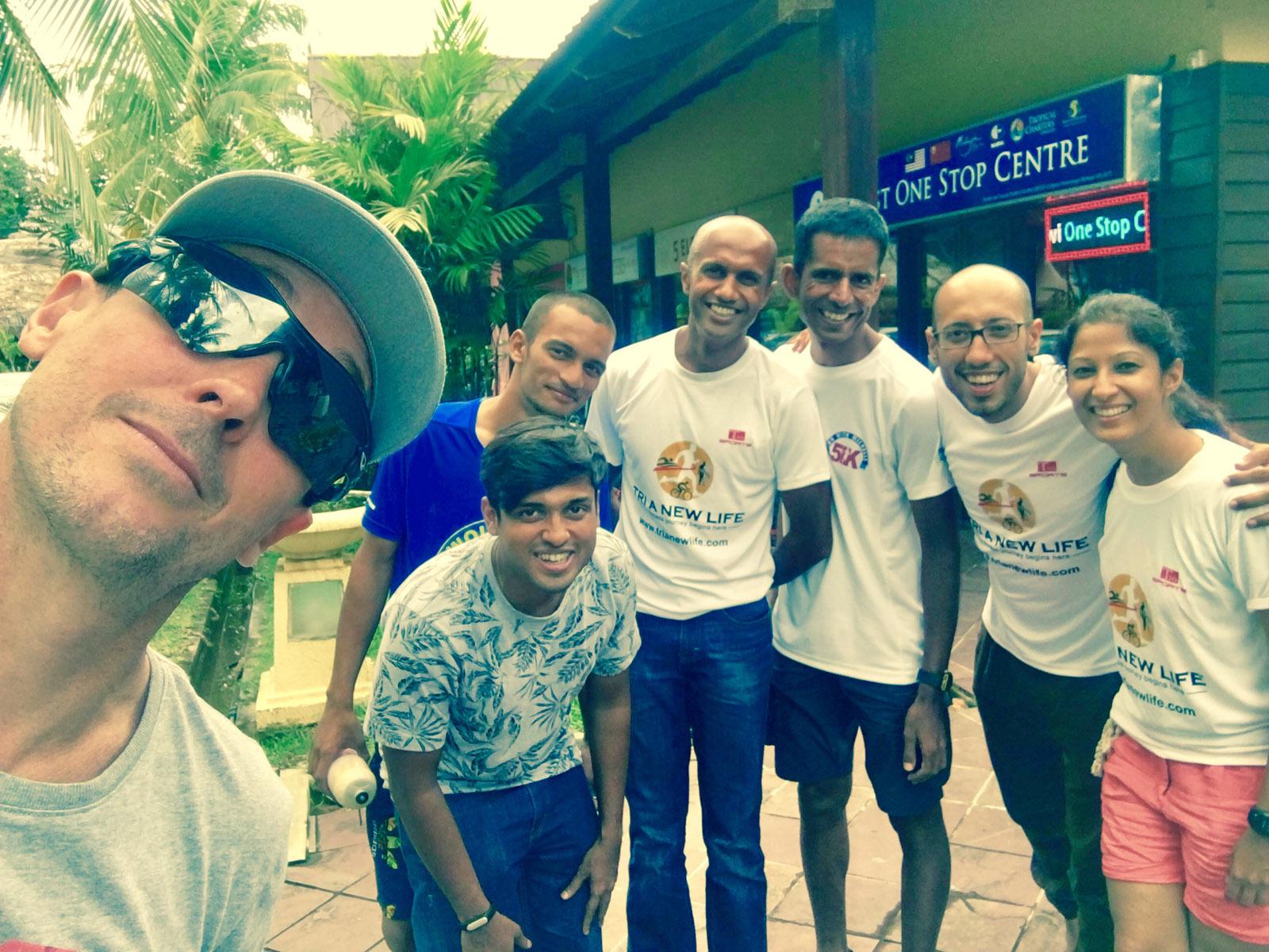 Running Café à l'Ironman de Langkawi