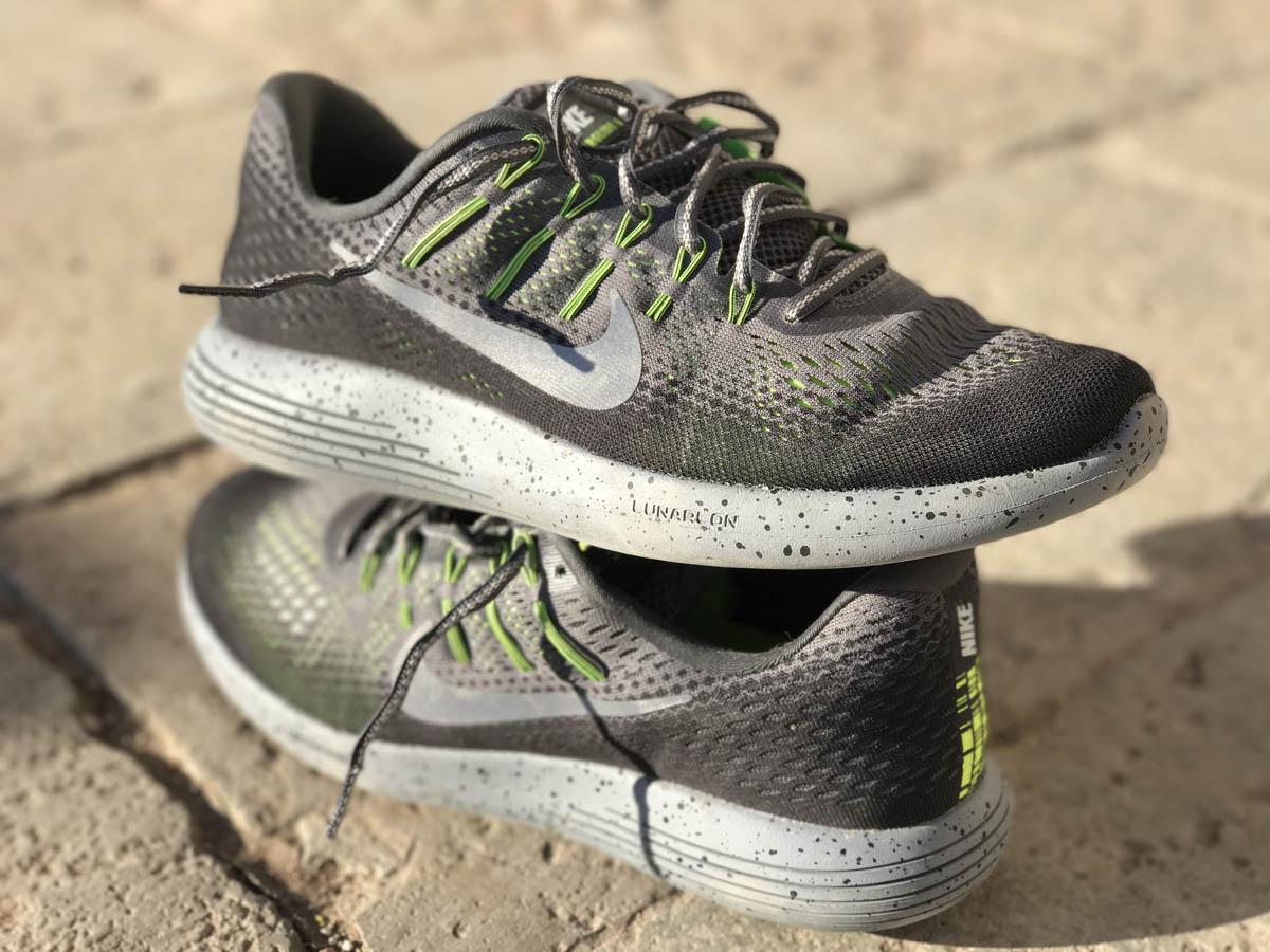 Nike LunarGlide 8 Shield : la tige