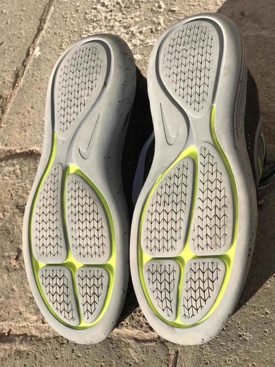 Nike LunarGlide 8 Shield : la semelle