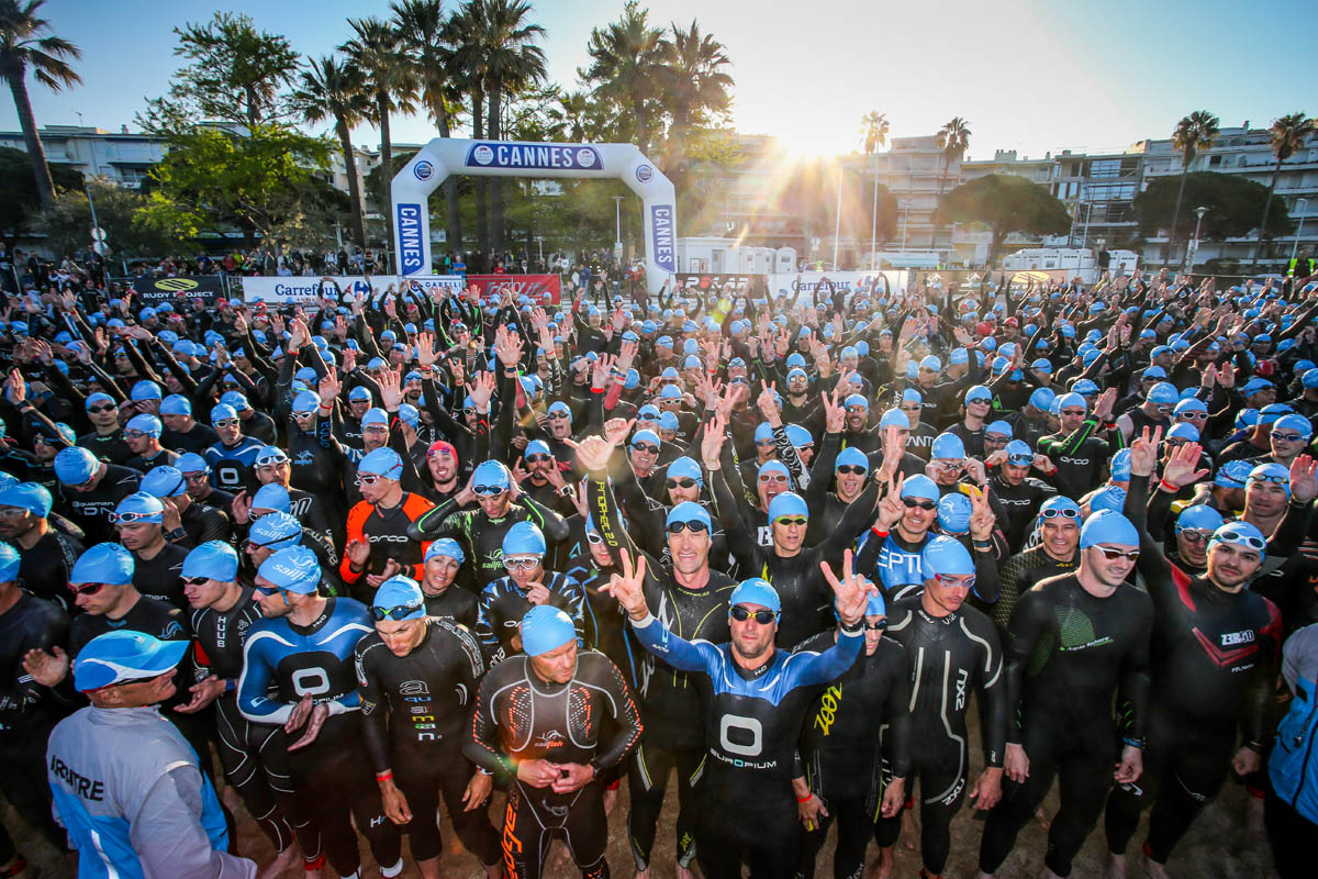 Cannes International Triathlon : 900 participants !