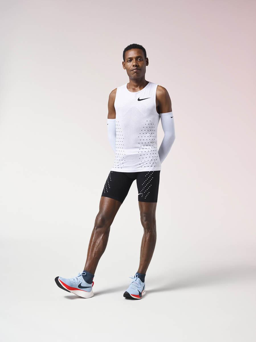 Eliud Kipchoge, Zersenay Tadese et Lelisa Desisa ont tenté de passer sous la barre des 2 heures sur la distance du marathon.
