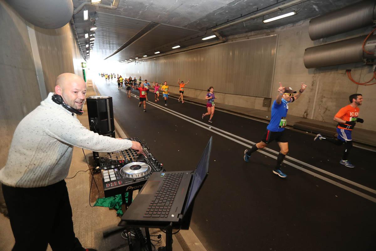 Animation et DJ lors du Marathon de Genève