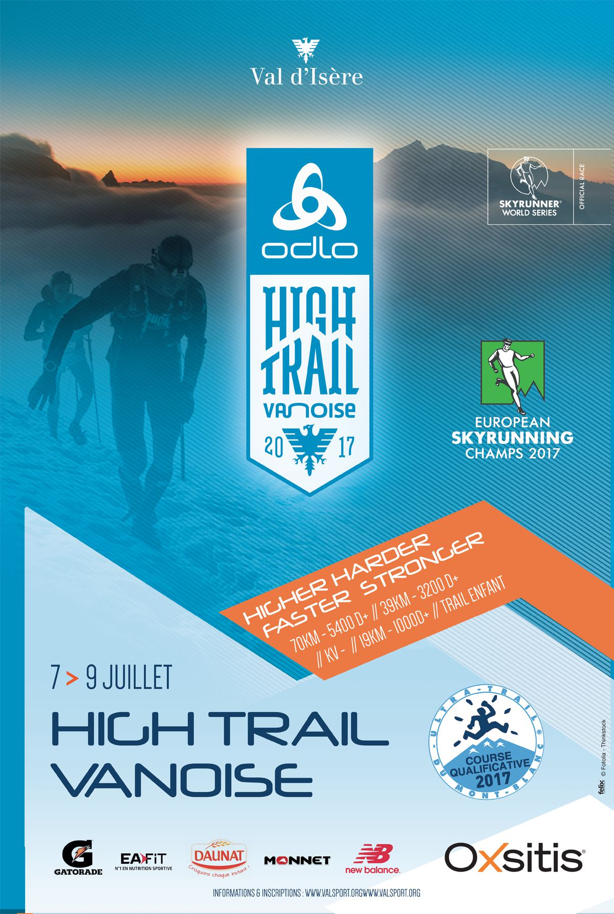 High Trail Val d'Isère course qualificative UTMB