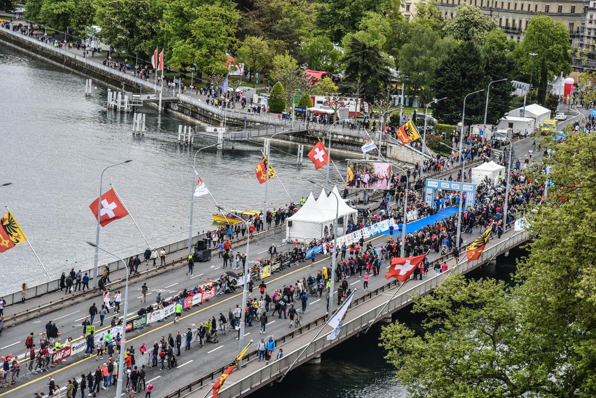 Marathon de Genève, dans les rues de Genève
