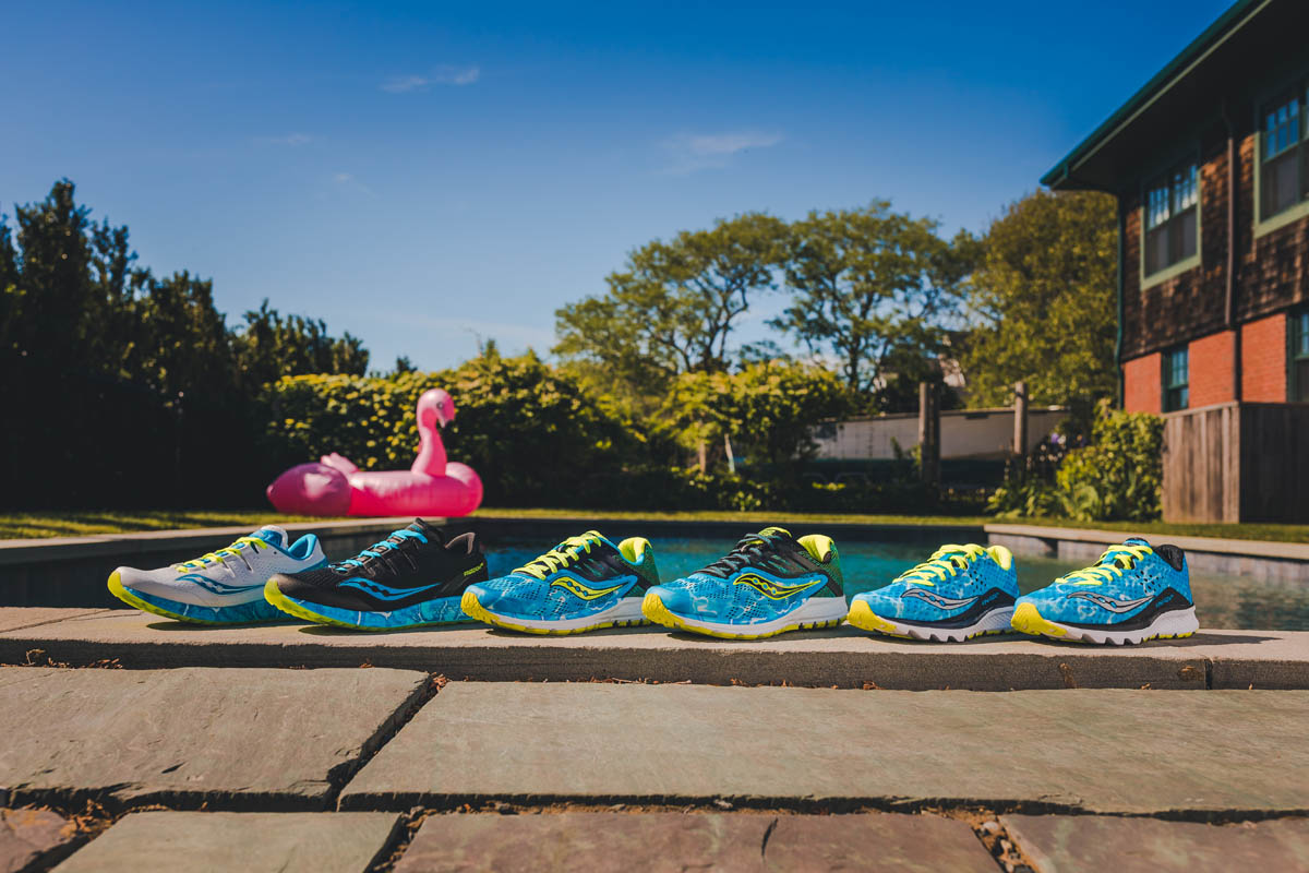 Endless summer by Saucony