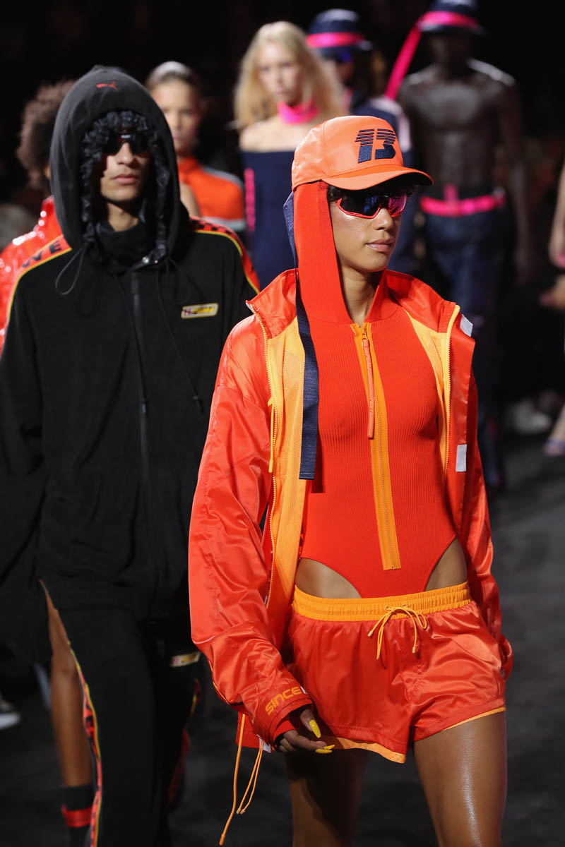 Puma & Rihanna à la Fashion Week - NYC