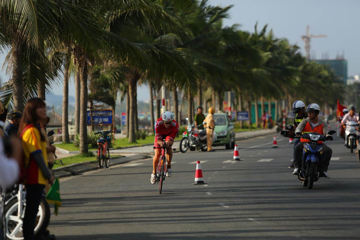 Courir à Danang, Vietnam
