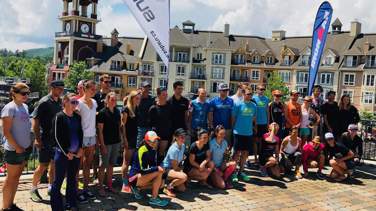 Ironman Mont-Tremblant 2018, avec Lionel Sanders