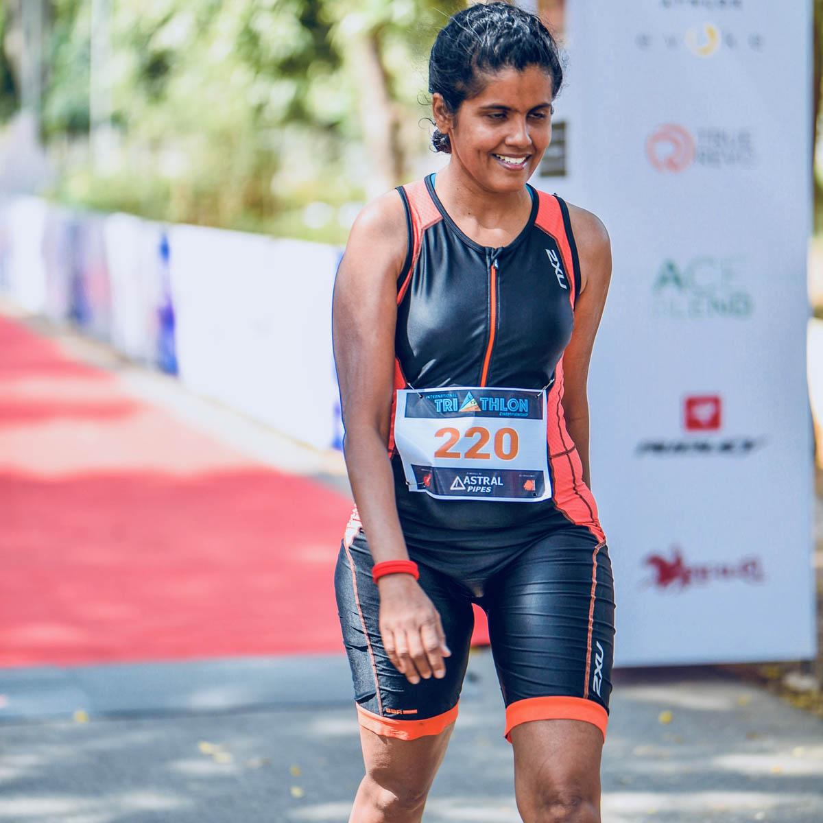 Un triathlon en Inde !
