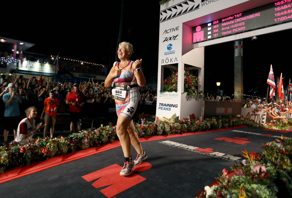 Hoka One One® en force sur l'Ironman