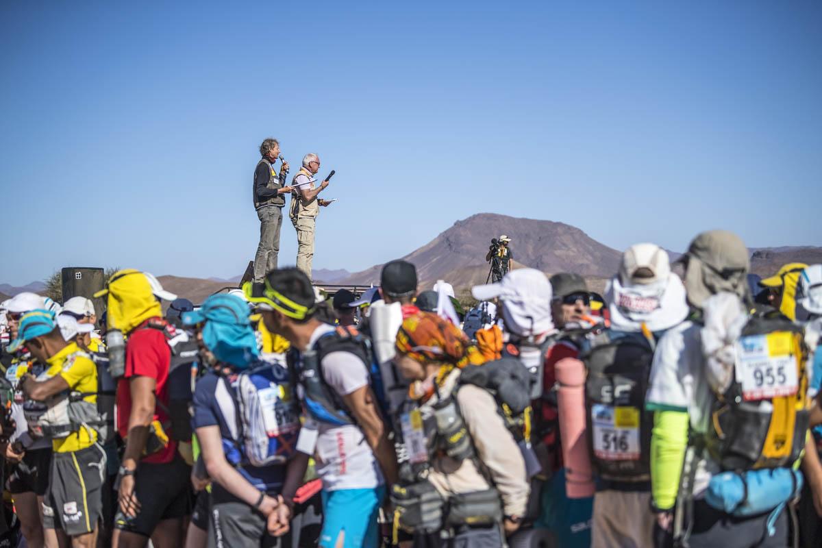 Marathon des Sables 2018 : étape 1