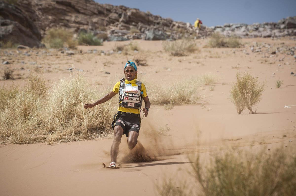 Marathon des Sables 2018 : étape 2