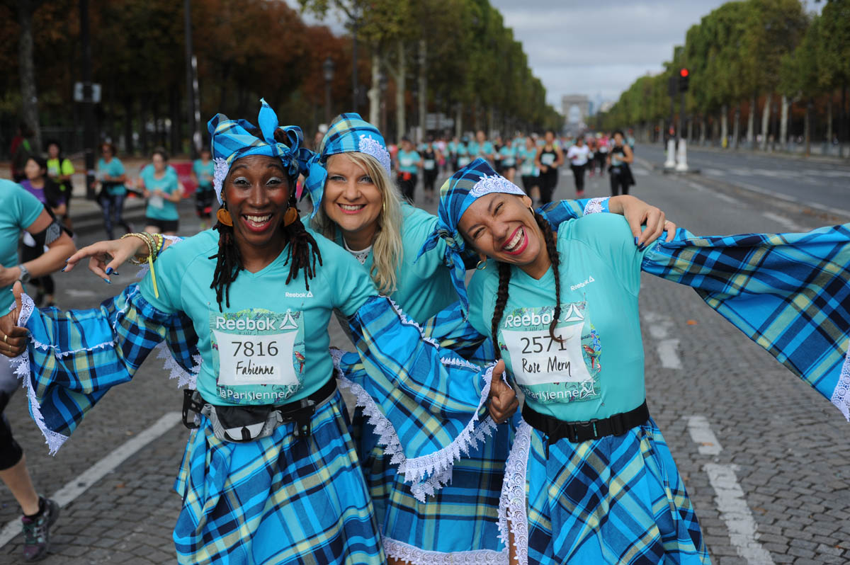 La Parisienne première course féminine d'Europe