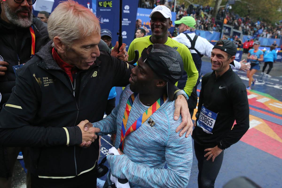 Peter Ciaccia, le directeur de course du TCS New York City Marathon s'en va.