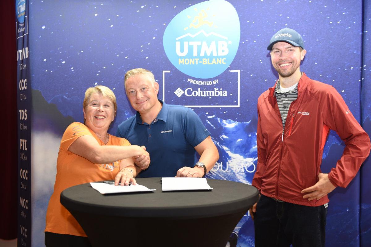 Columbia renouvelle son partenariat avec l'UTMB®