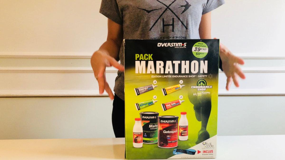 Pack marathon Overstim.s