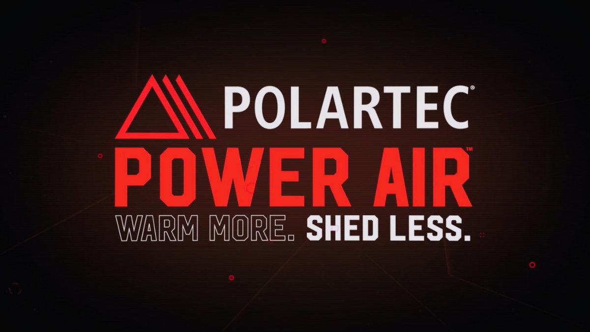 Polartec® Power Air™.