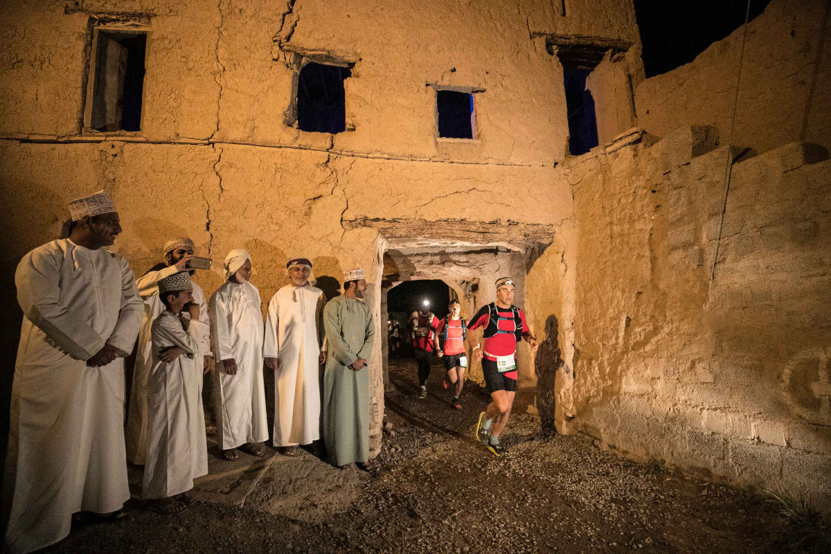 Jason Schlarb sur l'Oman by UTMB®