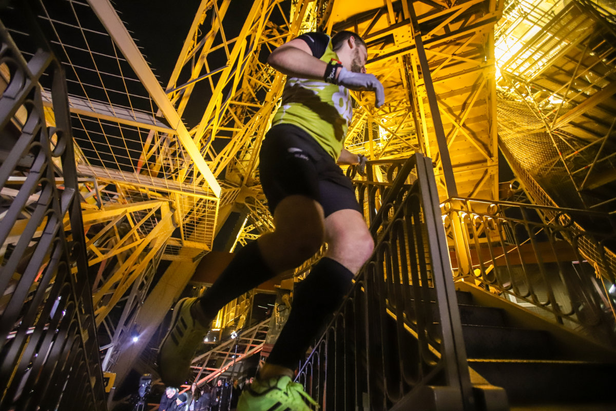 M-2 avant la Verticale de la tour Eiffel® 2019