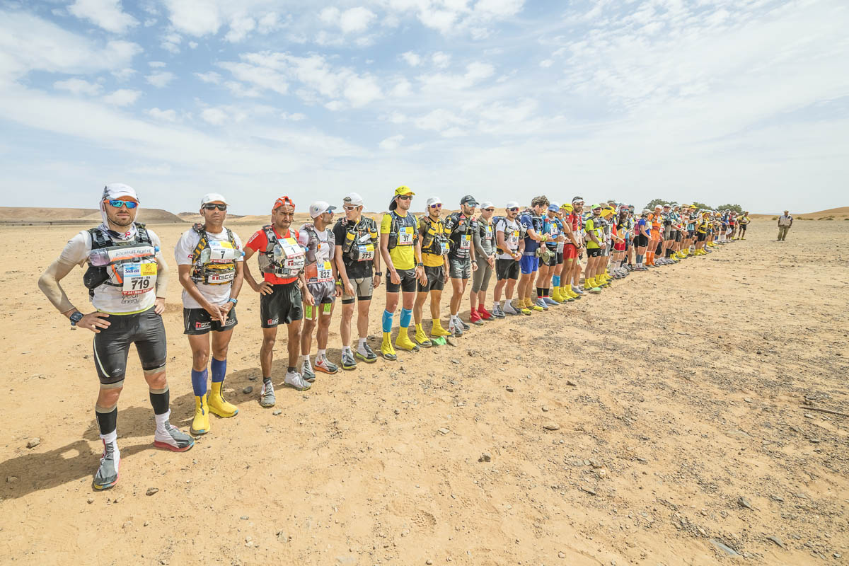 Marathon Des Sables. Quatrième étape