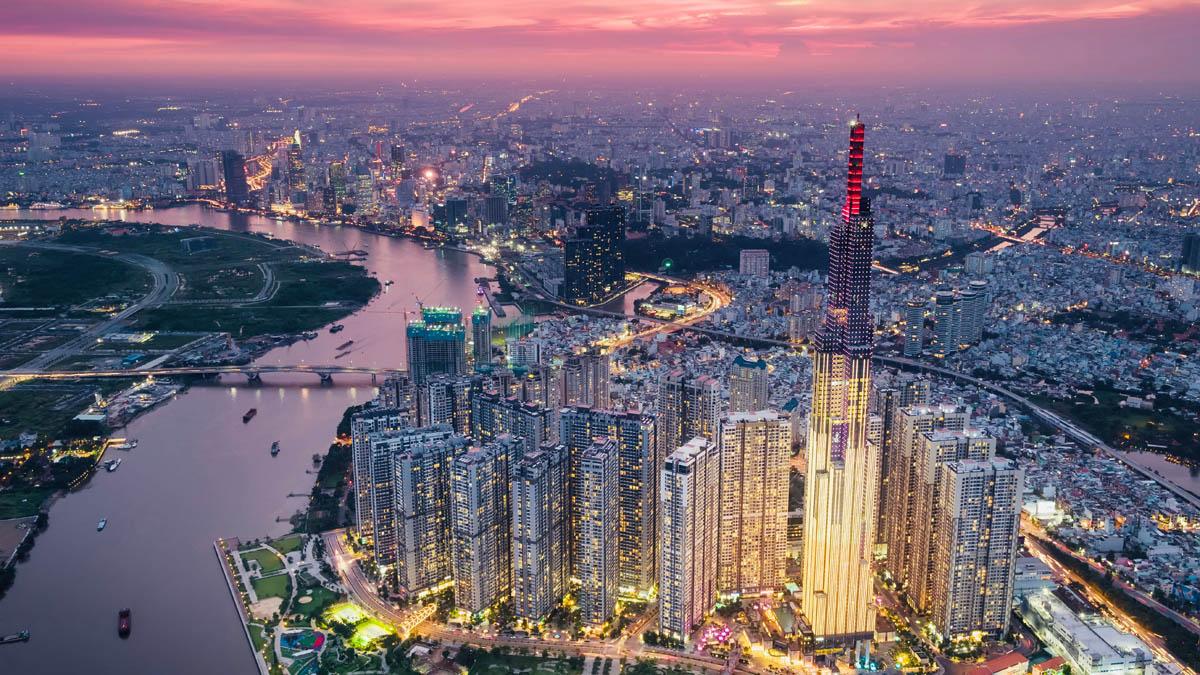 Verticale Ho Chi Minh City avant Paris