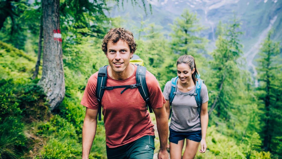 Odlo. Ou le crossover entre le trail running et la rando'.