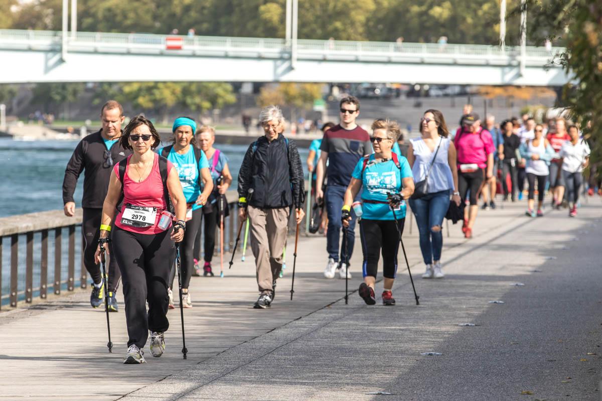 4ème édition de NordicWalkin'Lyon les 12 et 13 octobre 2019