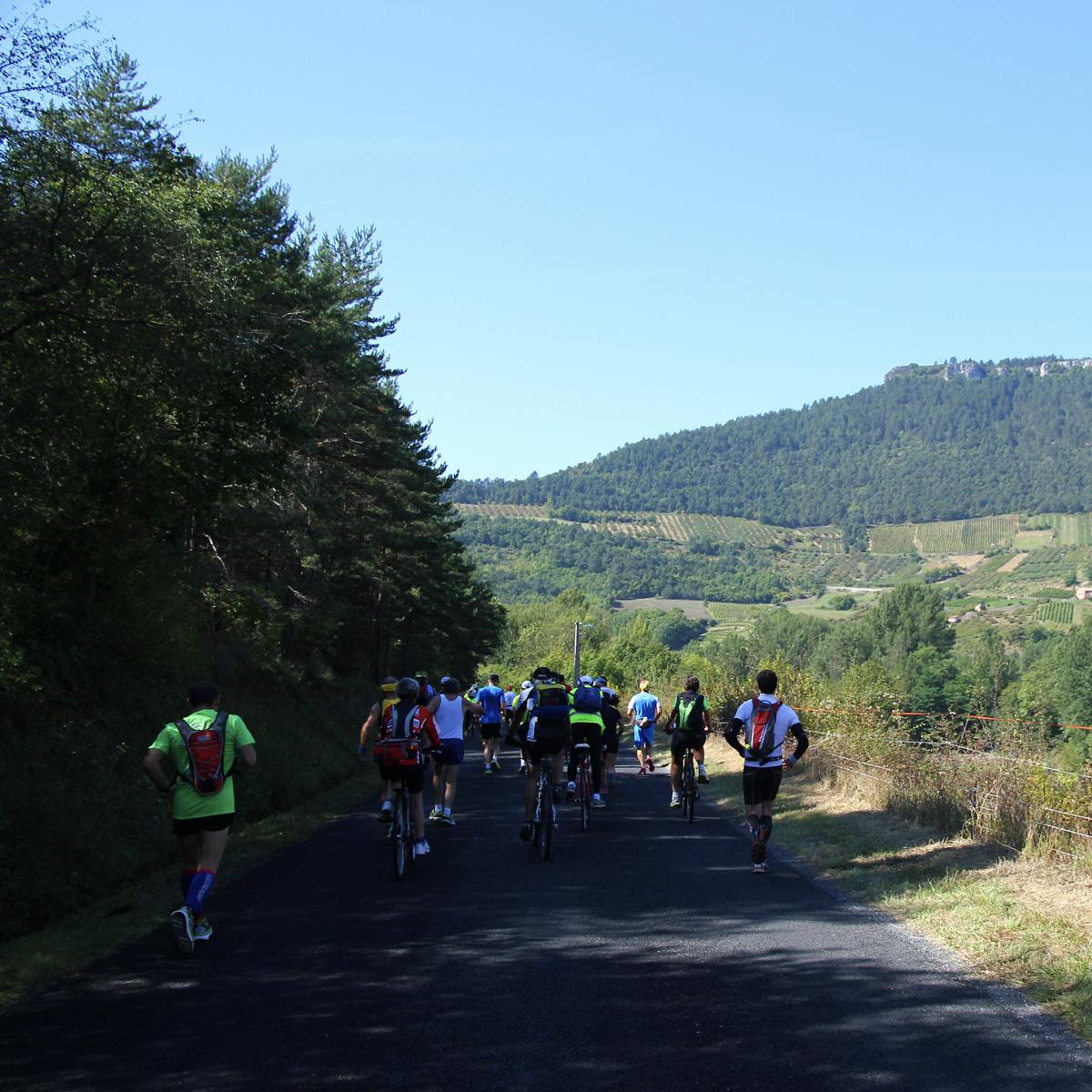 100 km de Millau