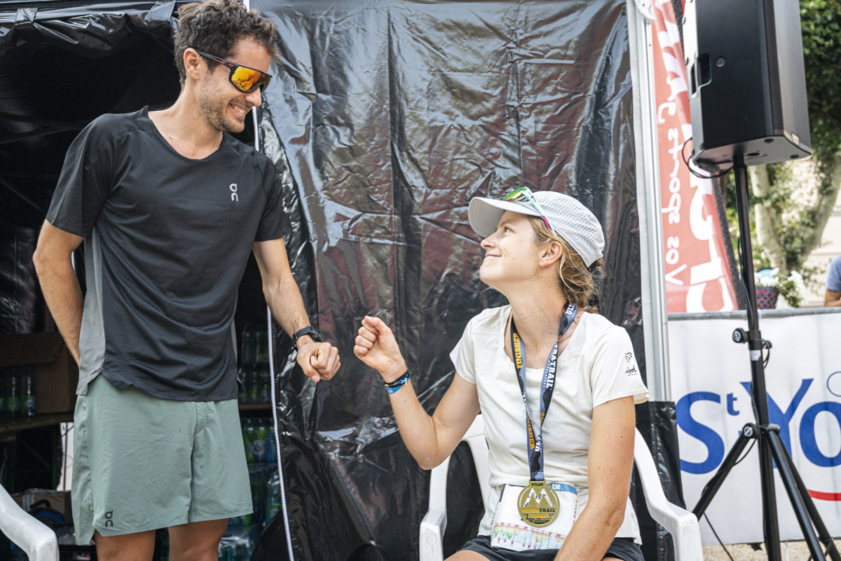 Katie Schide, la montagne et son Germain Grangier de (futur) mari