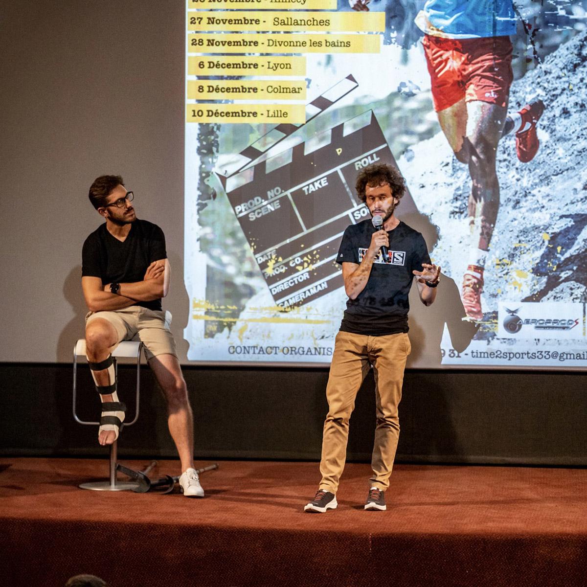 Thibaut Baronian, le cinéma, le Tour de France, tout ça tout ça