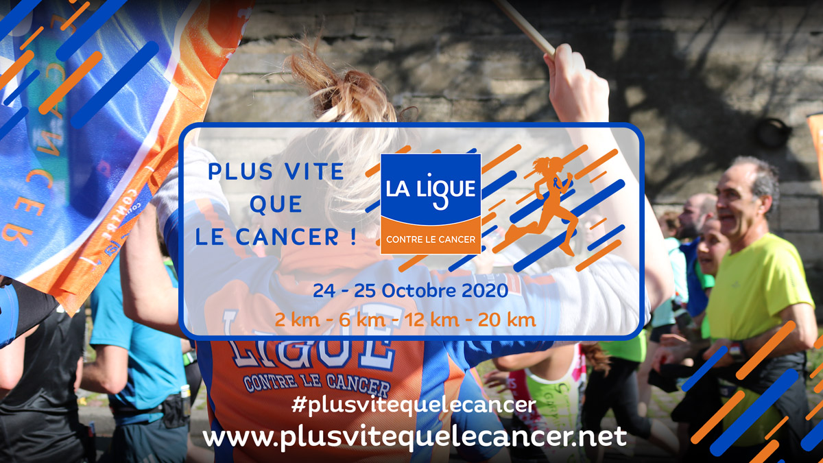 Course virtuelle contre le cancer
