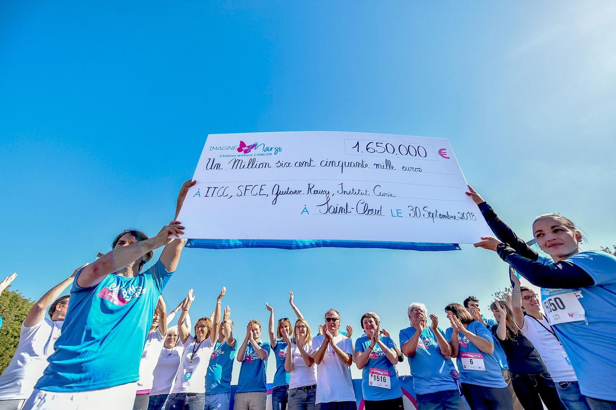 L'association Imagine for Margo organise la 10e édition de sa course Enfants sans Cancer