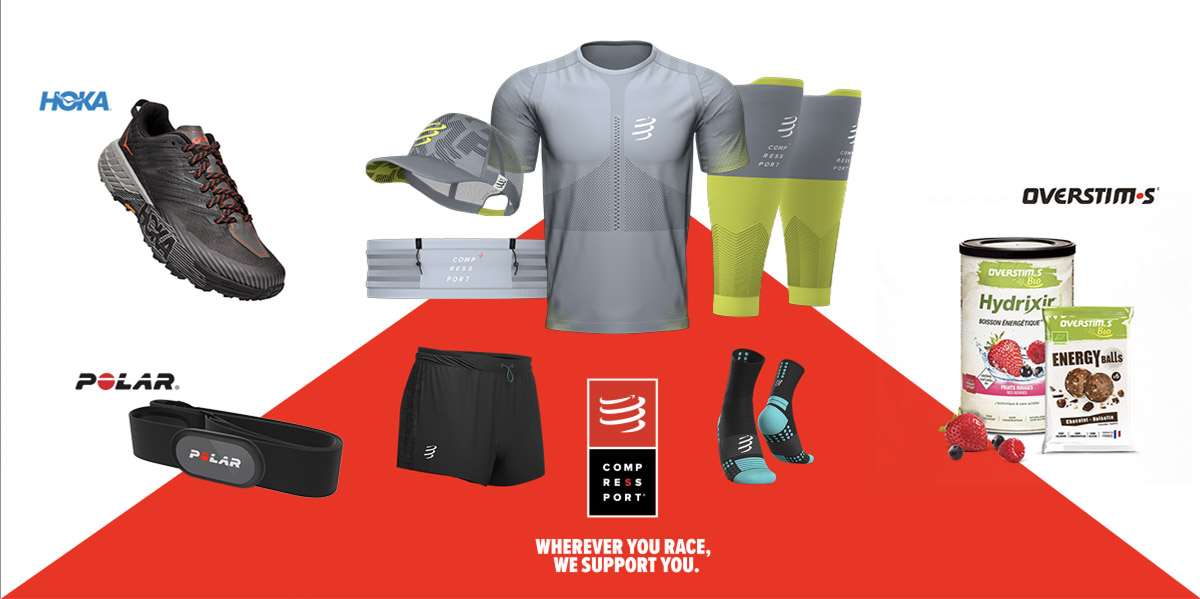 Compressport® wherever you run Challenge