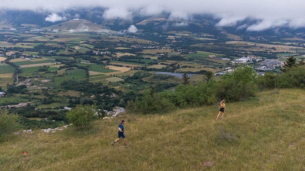 Trail des Passerelles du Monteynard. Le 3ème Poste.