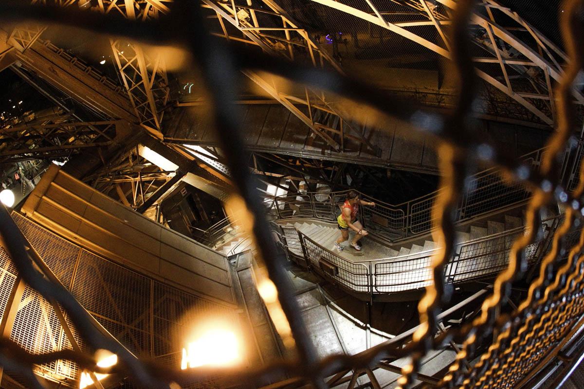 L'EcoTrail : la Verticale de la Tour Eiffel