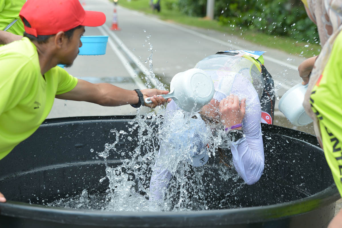 Rafraichissement Ironman de Malaisie
