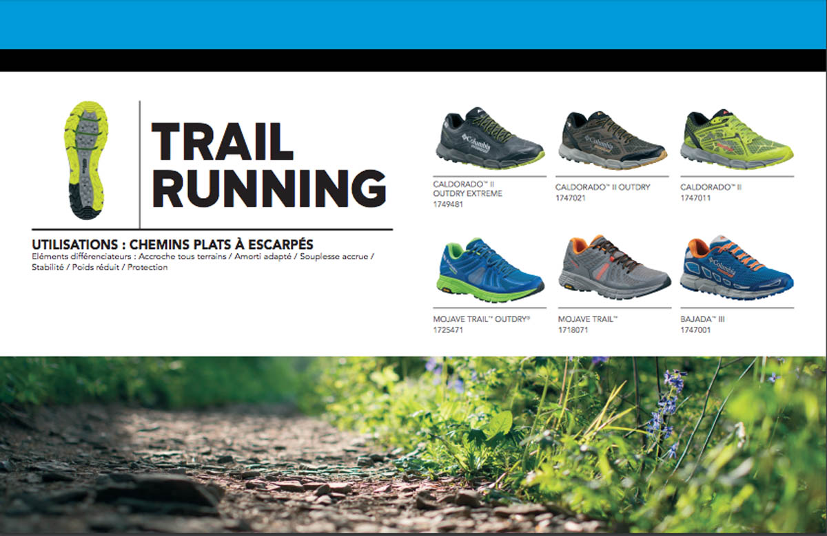 Gamme Montrail