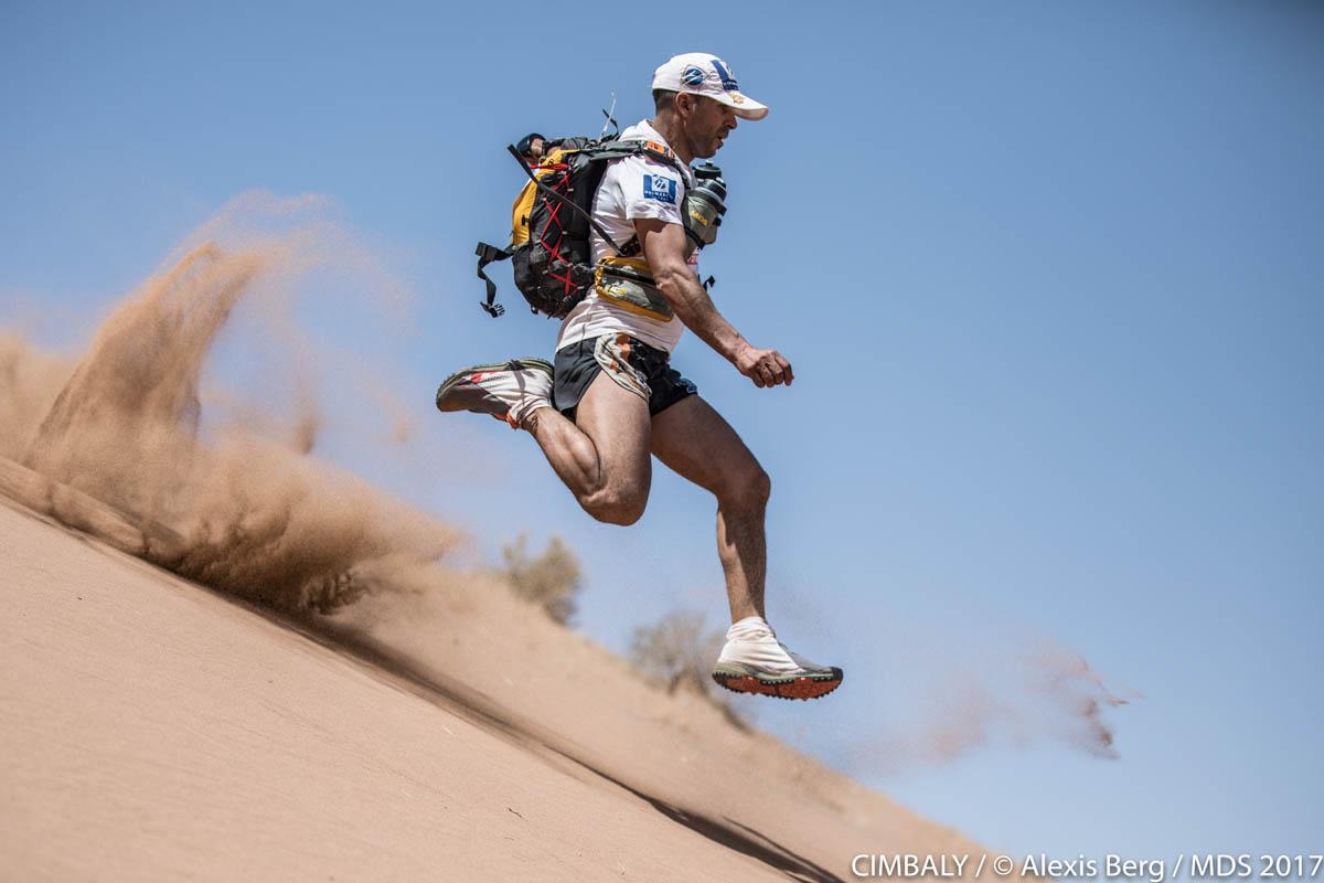 Courir un Marathon des sables