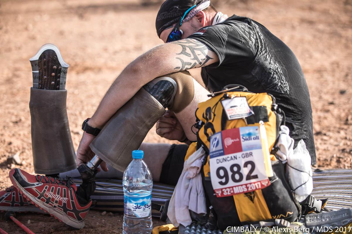 Marathon des sables : l'épuisement