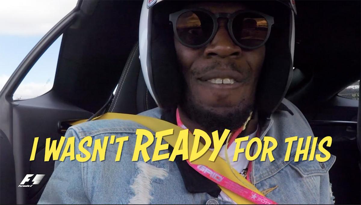 Quand Usain Bolt va trop (trop) vite...