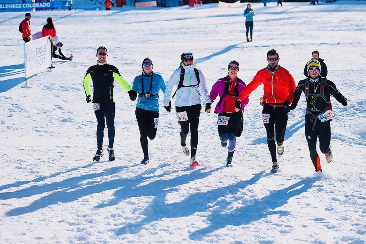 Les Étoiles du Sport participent à la Yéti Race