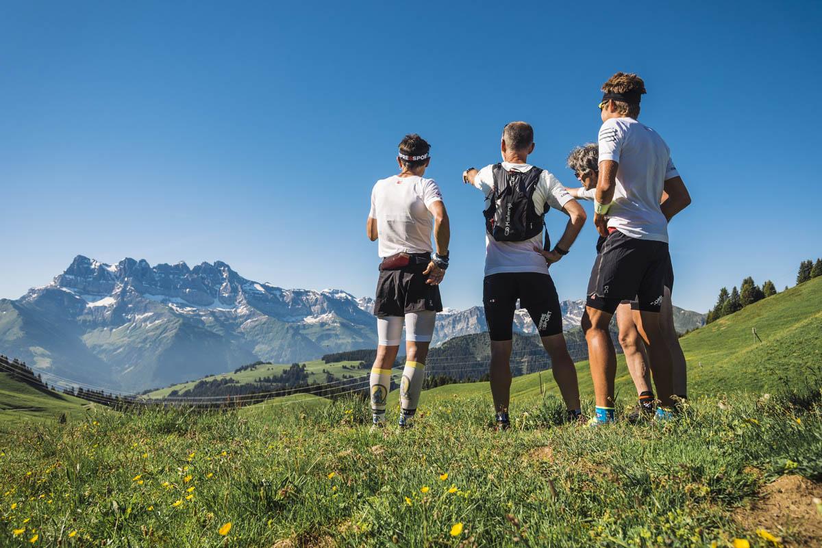 Trail-Running Portes du Soleil