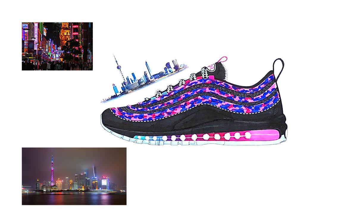 4 villes et 1 chaussure : l'Air Max