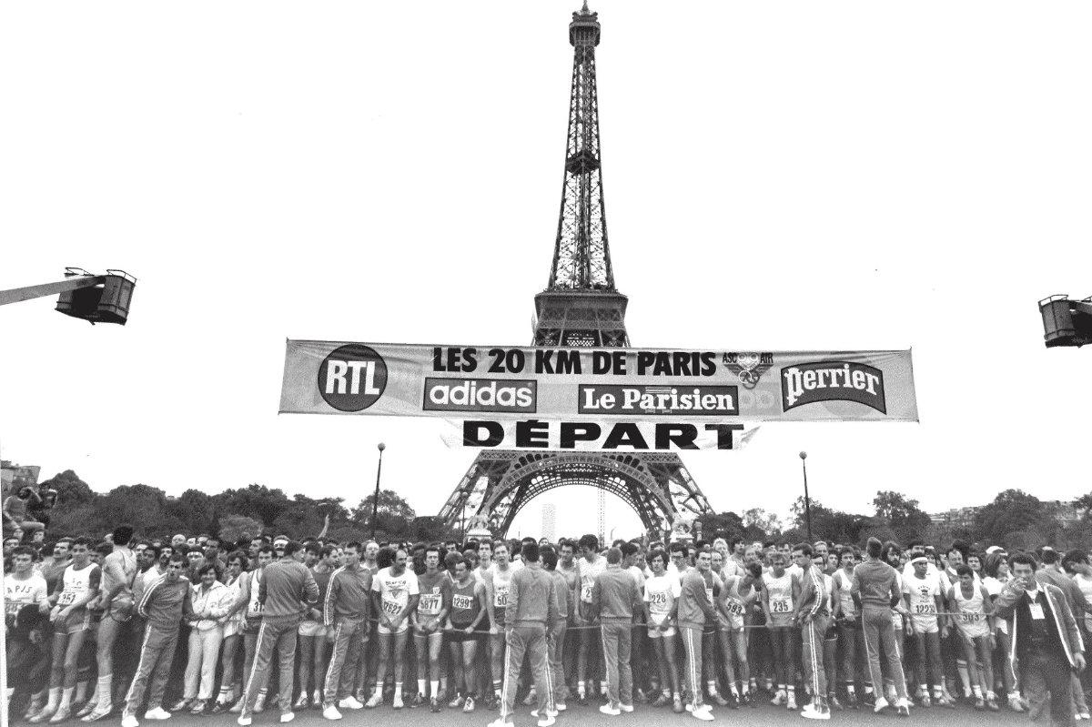 Plateau Élites aux 20 km de Paris