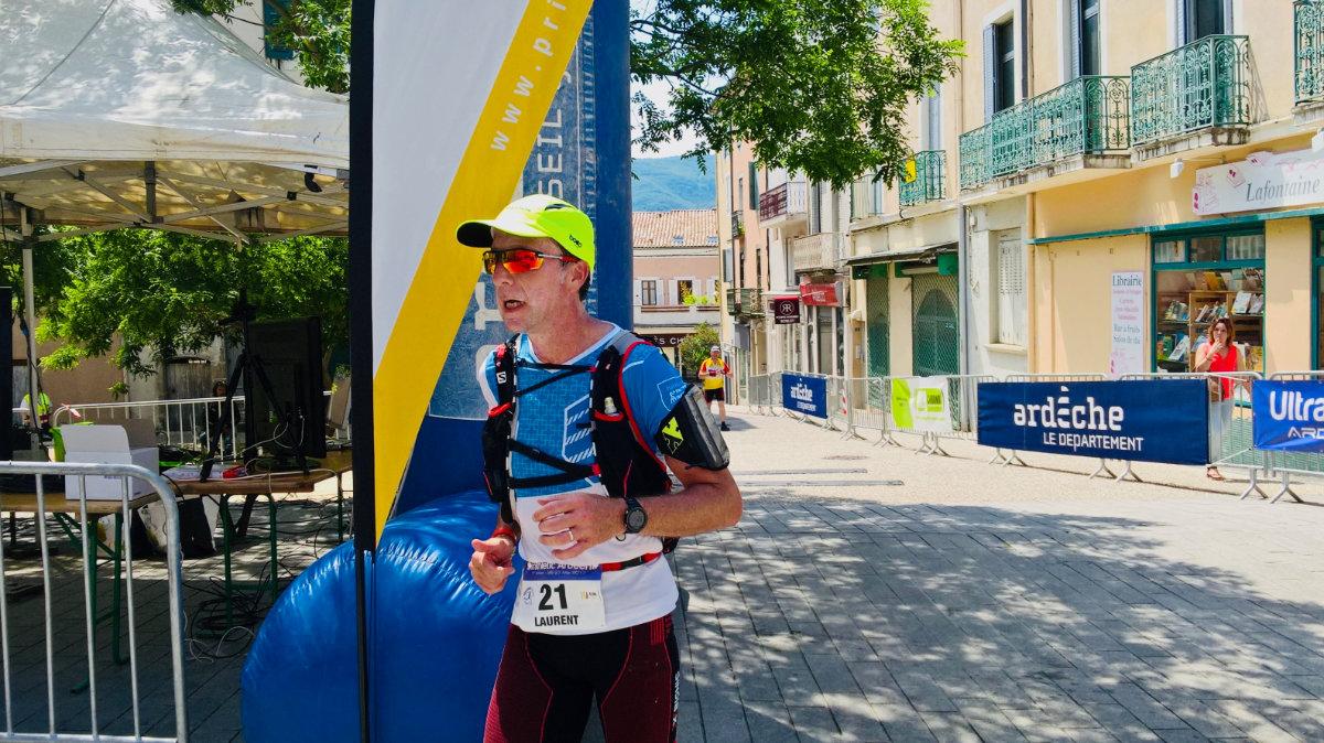 Laurent Masset, une frénésie de marathons