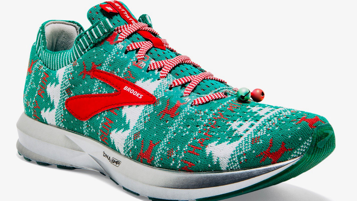 Brooks Levitate Ugly-sweater sneaker