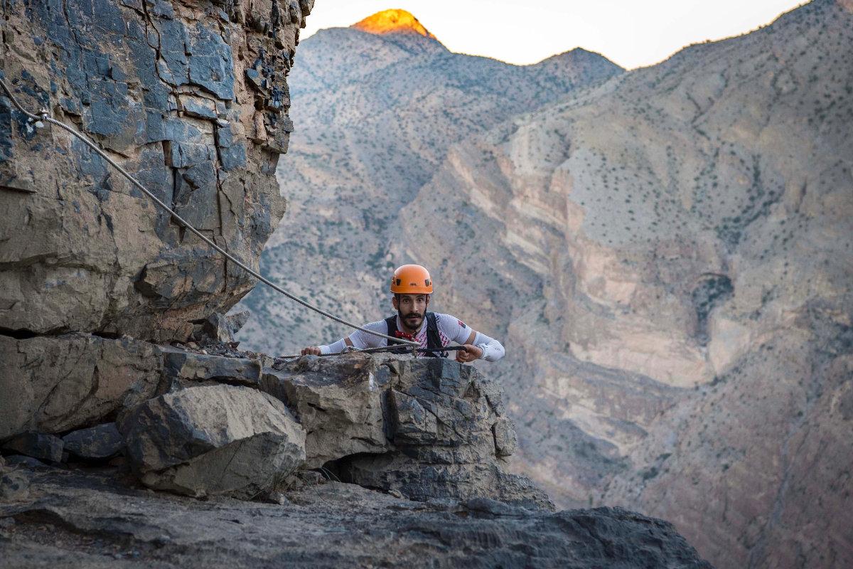 Jason Schlarb sur l'Oman by UTMB®