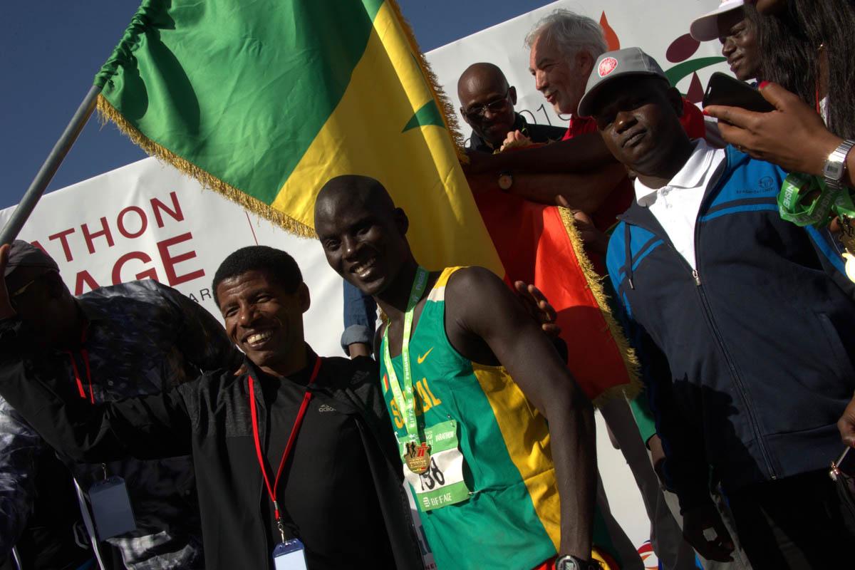 Marathon Eiffage de Dakar, 2ème.