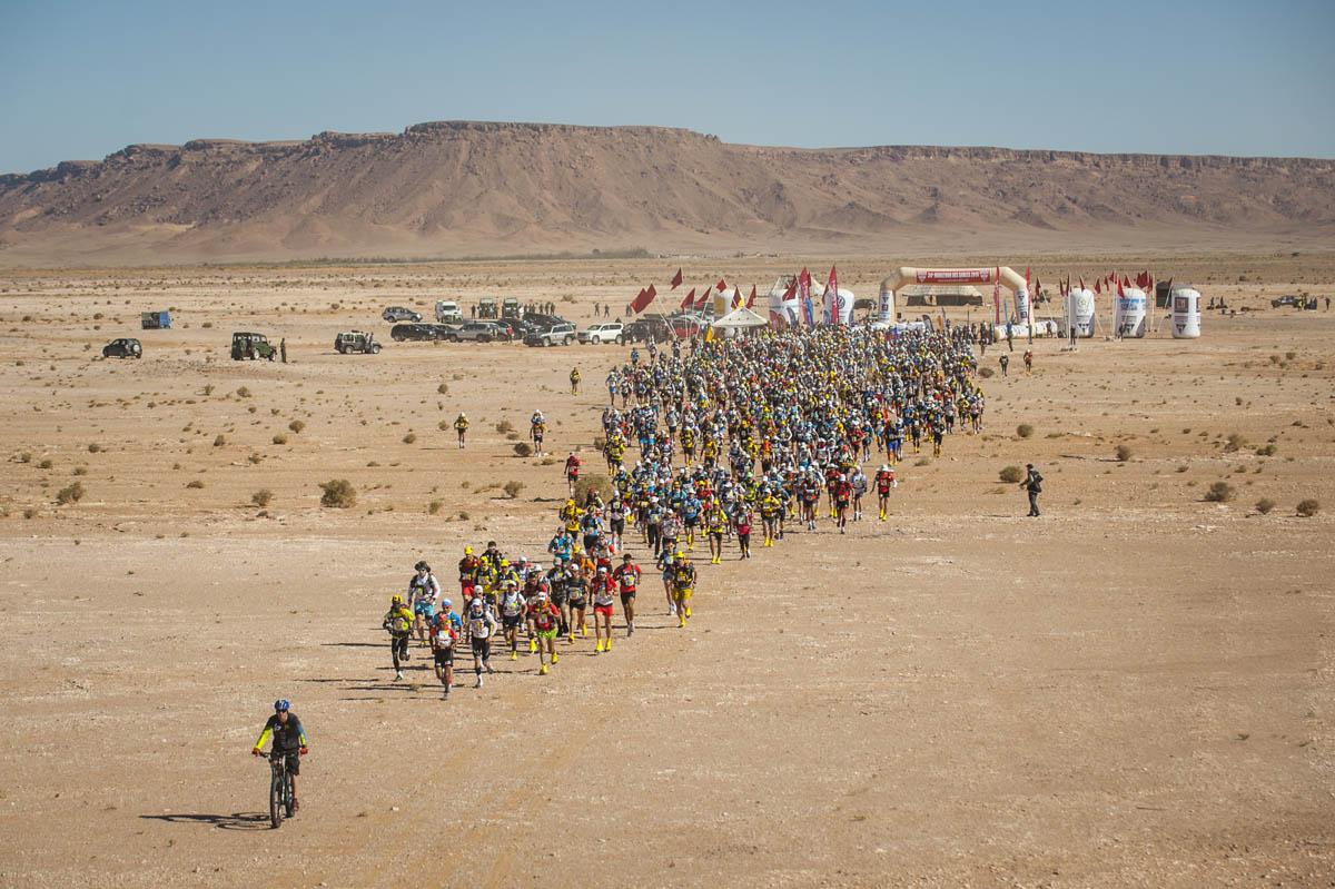 Marathon Des Sables. Première étape.